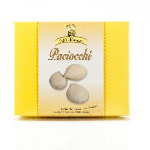 Paciocchi - fichi ricoperti di cioccolato Bianco 250 gr