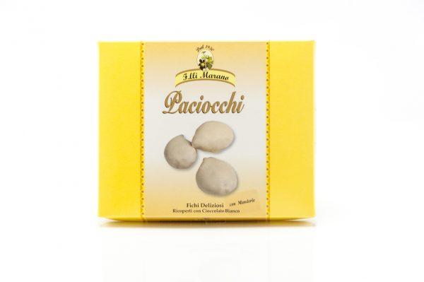 Paciocchi - fichi ricoperti con cioccolato Bianco