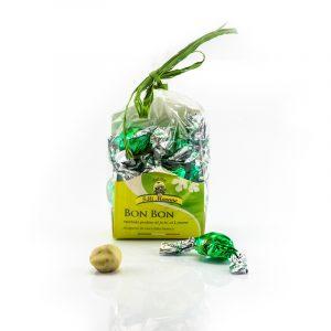 Bon Bon - Praline di fichi al limone ricoperti di Cioccolato Bianco