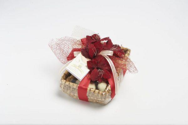Cesto di fichi al cioccolato assortiti