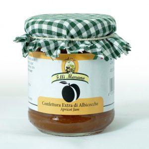 confettura extra di albicocche 240 gr