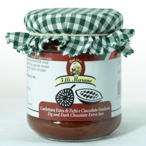 confettura extra di fichi e cioccolato fondente 240 gr