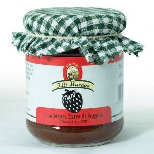 confettura extra di fragole 240 gr