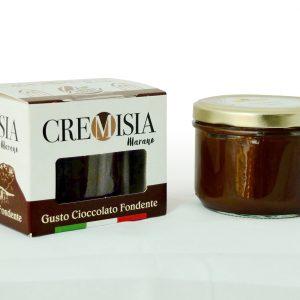 cremisia crema spalmabile al cioccolato fondente